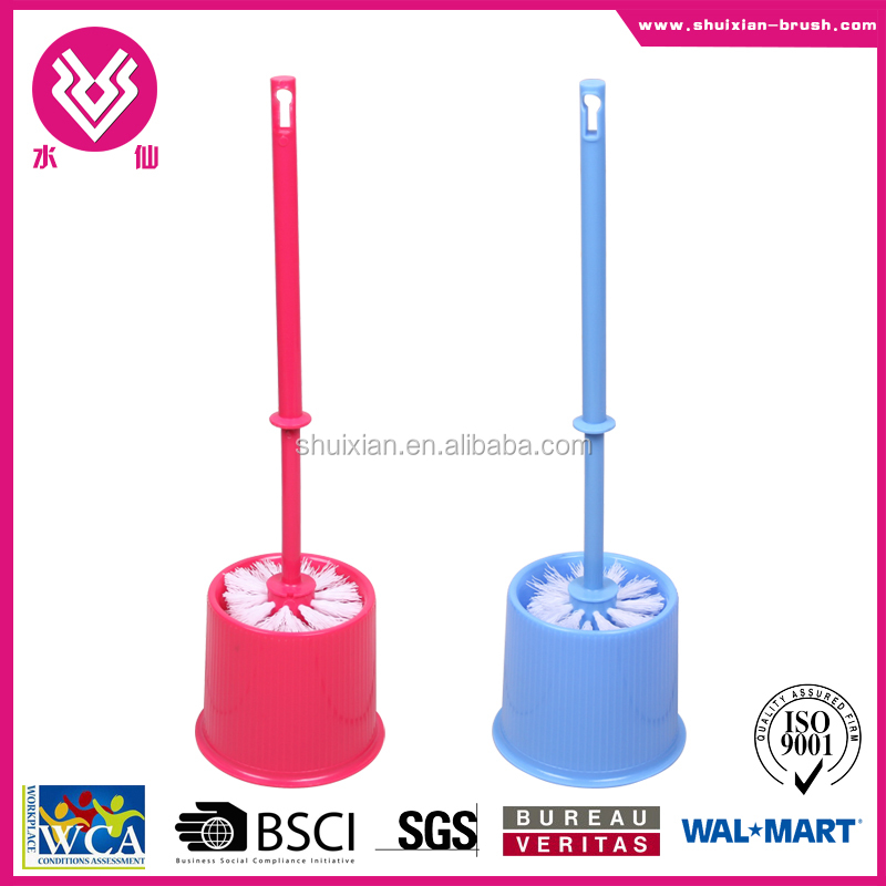 new design & useful PP plastic cleaning toilet brush
