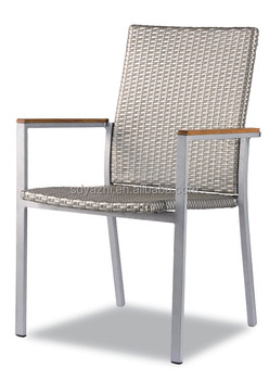 European outdoor bistro chair in aluminum furniture buy for Outdoor furniture europe