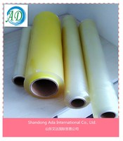 supply free sample cling film/clear plastic roll/pvc soft film factory