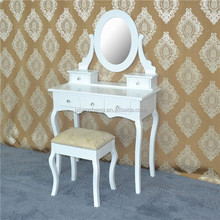 Simple louis xv furniture reproduction white dresser