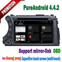 Special for Ssangyong kyron auto radio car dvd with GPS Navigation system! 3G! in stock!