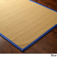 indoor Handmade Natural Fiber Cotton Border Jute carpet
