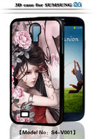 Unique Hard 3D Sexy Girl PC Back Cover For Samsung Galaxy S4 IV
