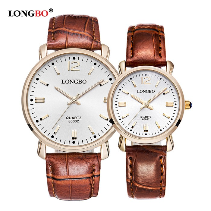 LongBo african Couple quartz valentine brand watches,free wrist watches