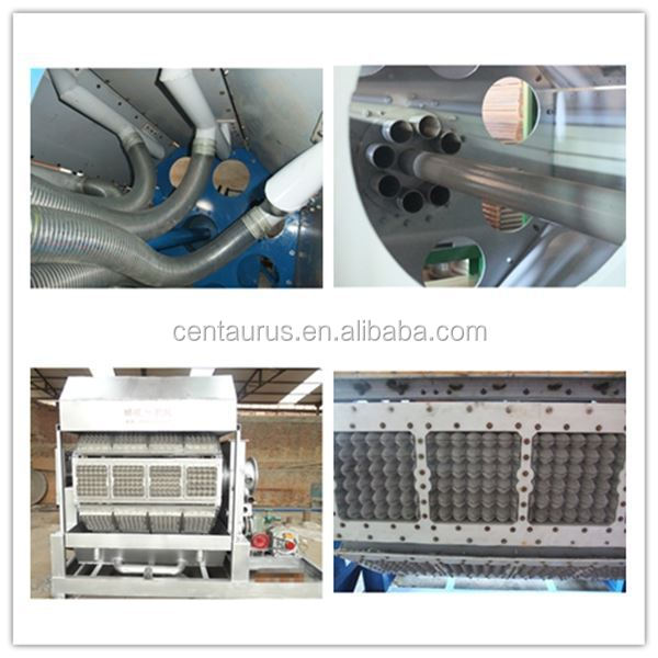 New design egg tray machine production line small egg tray making machine