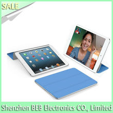 Qualified leather smart cover for ipad air on promotion