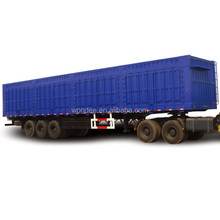 High Quality 3 Axle Van Dry Cargo Semi Trailer