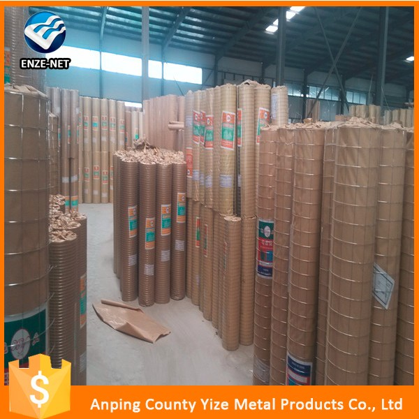 High Quality hot sale galvanized welded wire mesh / pvc coated welded wire mesh with ISO 9001