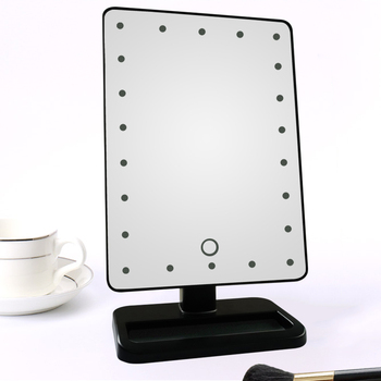 Fashional Design Adjustable Brightness Vanity Girl Hollywood Makeup Mirror with light wholesale