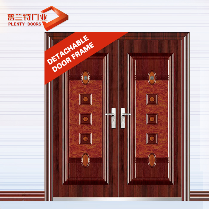 Metal bedroom glass double grill doors exterior used for homes catalog and shops