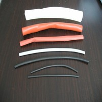 heat shrink silicone rubber tube insulator sleeve /cable harnessing