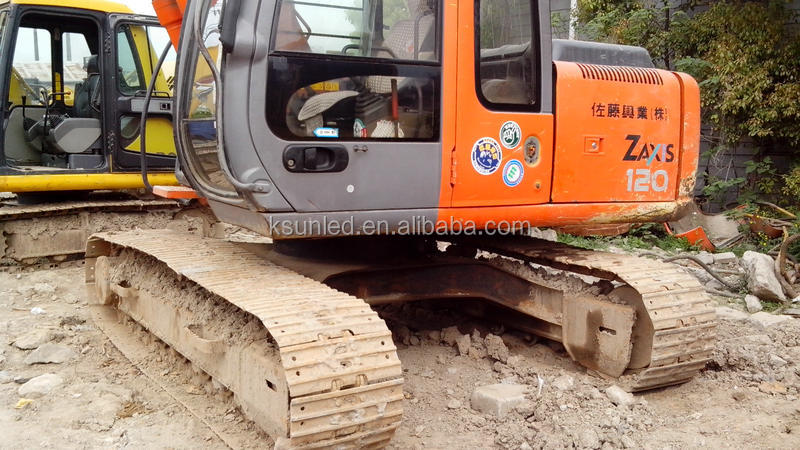 Used construction machine,Hitachi ZX120 excavator with good condition low price for sale