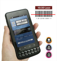 Android 4.2 Rugged mobile phone with 1D/2D barcode reader HF UHF RFID wifi, 3g, bluetooth,, gps