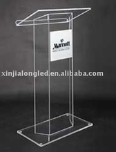 Clear 12mm Plexiglass Lectern Perspex Pulpit Acrylic Podium Factory Price