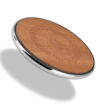 Wood Fast Phone Charger Inductive Wireless Charger Receiver