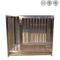 Stainless Steel Small Pet Stainless Steel Animal Dog Cage Malaysia