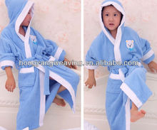 Non Twister Terry Soft Children Hooded Sleepwear