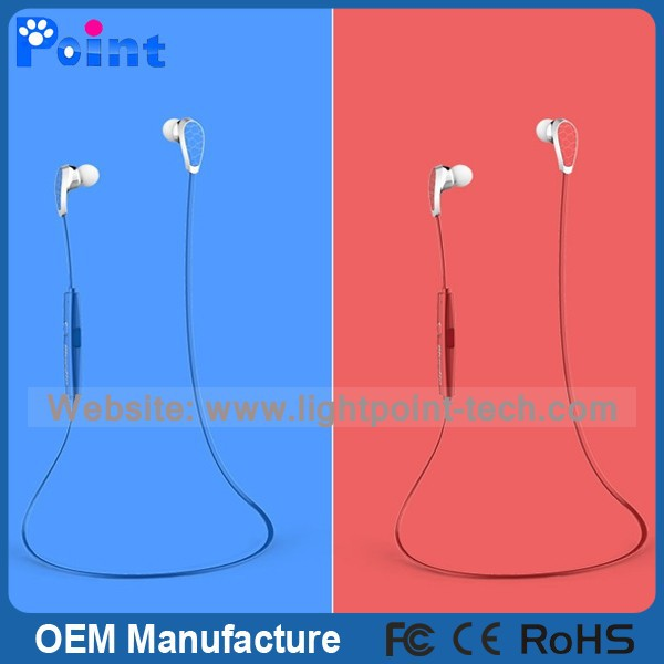 New design Snake shape bluetooth earphone wireless earphone for phone
