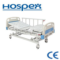 HH603M cheap three crank patient bed/manual hospital bed prices