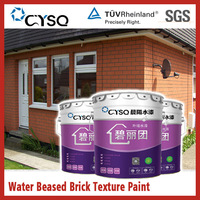 Water based brick texture paint