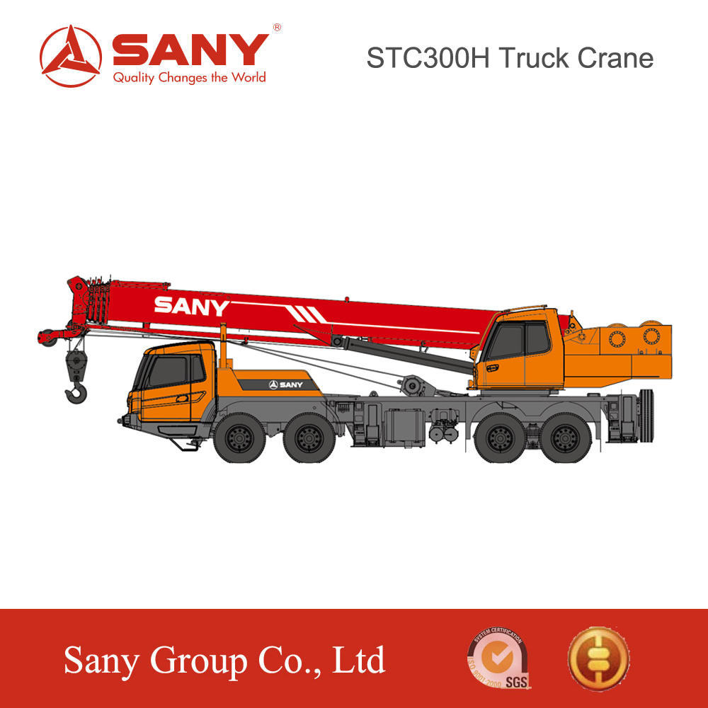 SANY STC300H 30 Tons Strong Lifting Capacity and Good Micro- Mobility of Mini Truck Mounted Crane