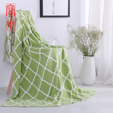 New fashionable stylish muslin baby swaddle throw blankets