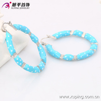29798- xuping wholesale cheap big color hoop earring for girls