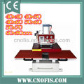 Bottom glide Automatic Pneumatic Double Station Heat Press Machine QD07