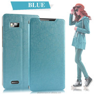 Full body protector Pu Leather cell phone case for Lenovo A788T for boys and students
