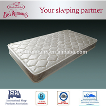 Mattress manufacturing cot spring mattress with foam mattress price