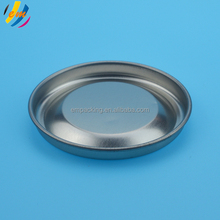 China supplier removeable metal tin cap for wine paper can
