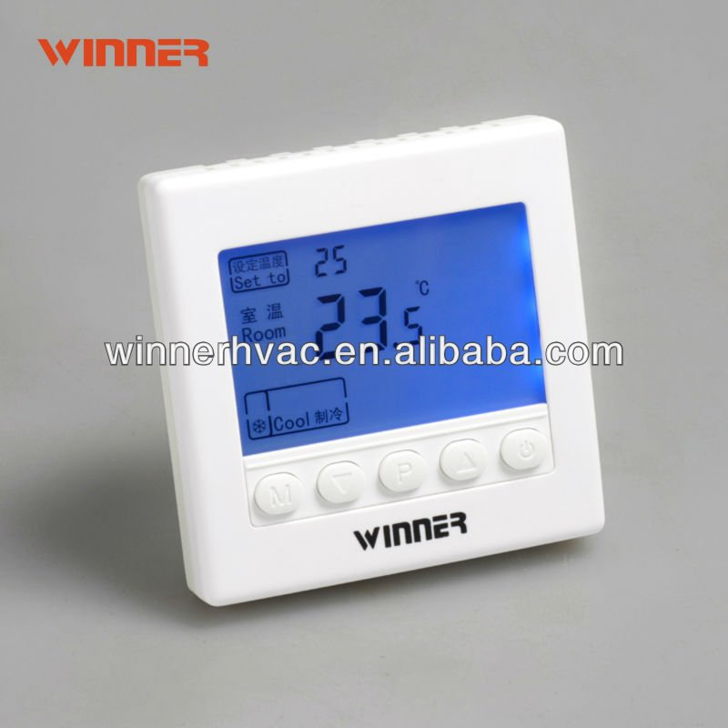 Thermostat /HVAC ,used as room temperature with digital LCD display