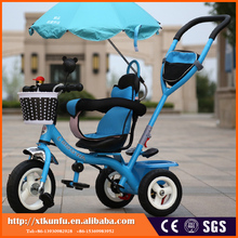 double suespension multifunction tricycle for kids baby