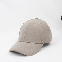 Wholesale Custom Solid Color Suede Dad Hat &Cool Hip Hop 6 Panel Blank Suede Baseball Cap