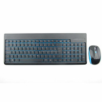Best selling 2.4G mini wireless mouse and keyboard combos, KMW-003