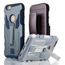 C&T Heavy duty hybrid dual layer robot impact armor case for iphone 6