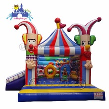 2017 inflatable jumping castle, playing castle bouncer, inflatable combo inflatable toy