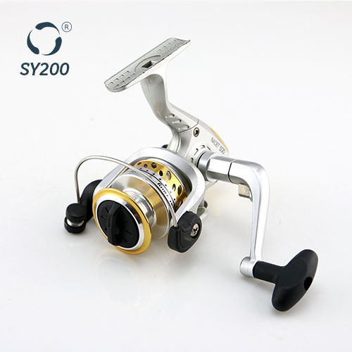 Small Silver Spinning Fishing Reel SY200A