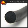 Extrusion customize density foam silicone rubber cord