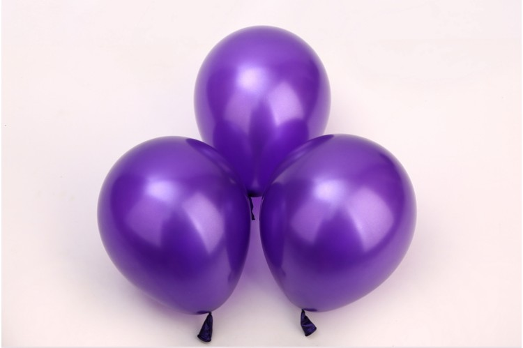 Natural latex inflatable wedding and party decoration balloons