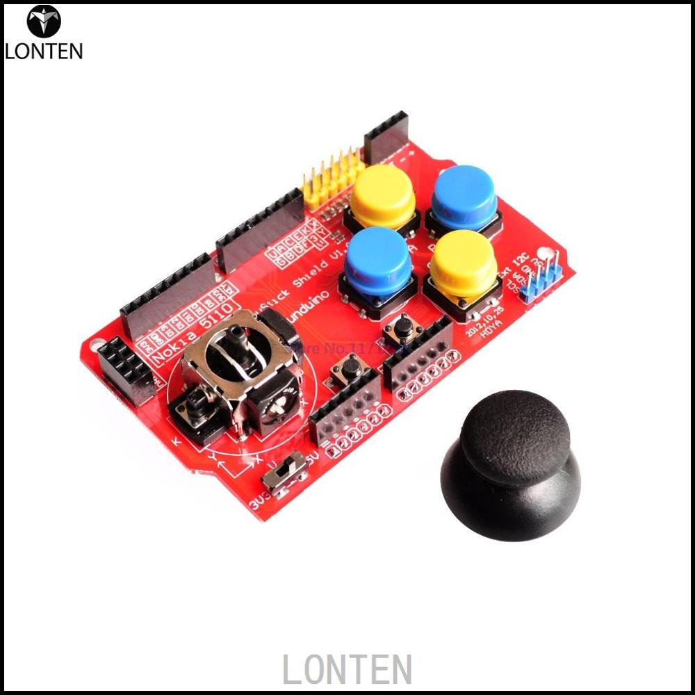Fast shipping Gamepads JoyStick Keypad Shield PS2 for aduino NRF24L01 Nk 5110 LCD I2C
