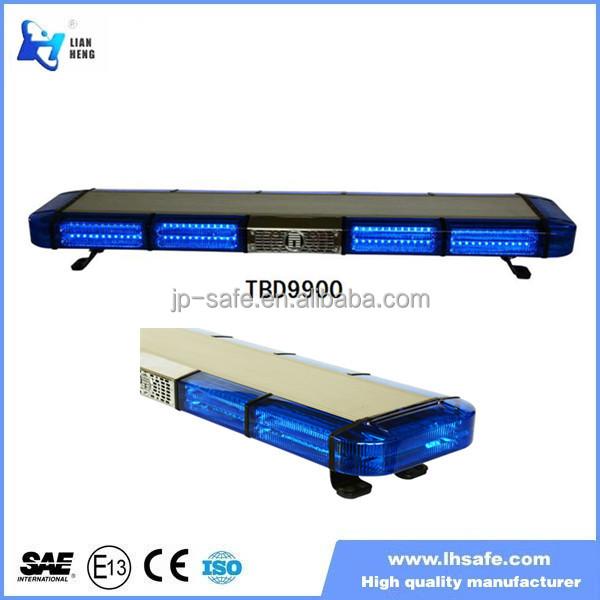Blue strobe lightbar for road police car, police emergency beacons TBD9900