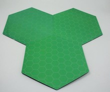 Wholesale gloss finish different colors game mat battle tiles