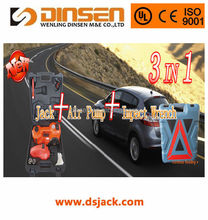DINSEN Car repair tool kit Taizhou electric lifting & inflating jack