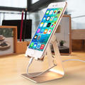 Adjustable Desktop Cell Phone Stand Tablet Stand, Aluminum Stand Holder for Mobile Phone (All Size) and Tablet (Up to 10.1 inch)
