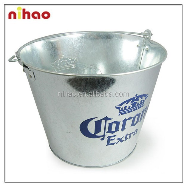 Promotion tin ice bucket