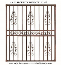 Modern iron window grill design with competitive price