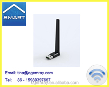 wifi usb adapter/ 11ac Suppliers and Manufacturers for USB wifi dongle with atenna