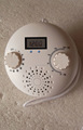 IPX3 water resistance shower FM radio with digital display screen