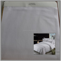 4/1 twill woven sateen cotton sheeting fabric for hotel 100% combed